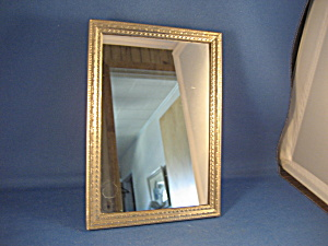 Old Silver Frame Mirror