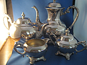 William Rogers Silver Tea And Coffee Set