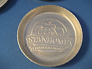 Stanhome Aluminum Coasters From Stanley Home