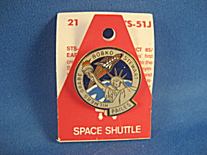 Pailes Space Shuttle Pin