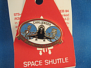 Nasa Approved Challenger Pin