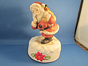 Santa Claus Is Coming To Town Music Box