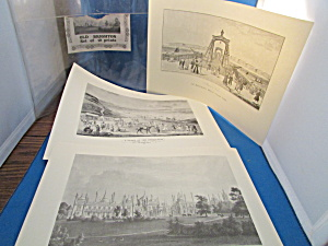 Set Of Ten Old Brighton Prints