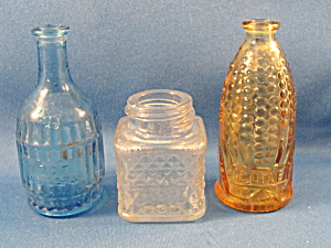 Three Miniature Bottles
