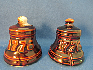1776 Bell Salt And Pepper Shakers From Pfalzgraff