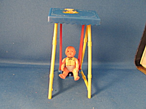 Plastic Baby Swing And Baby Doll