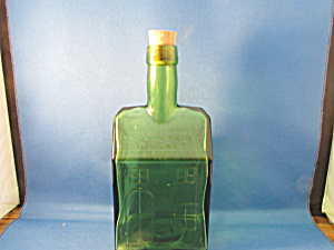 E.c. Booz's Old Cabin Whiskey Bottle