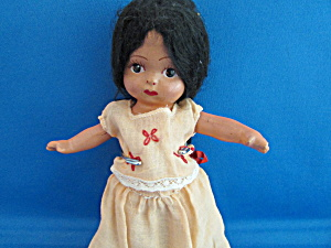 Mexican Composition Doll