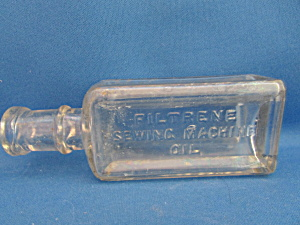 Sewing Machine Oil Bottle From Cheesbrough