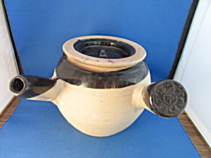 1900 Asian Crock Clay Tea Pot