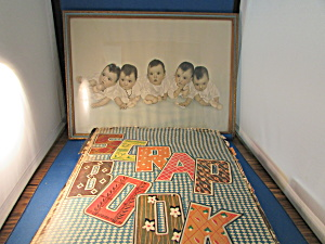 Picture And Scrapbook Of The Dionne Quituplets