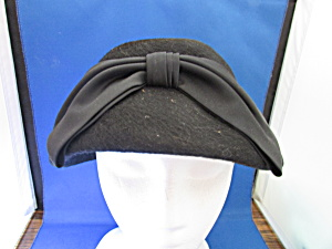 Black Wool Betmar Hat