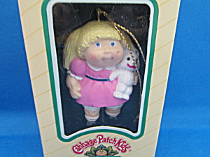 Girl Cabbage Patch Ornament
