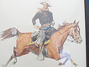 1956 A Cavalry Officer Remington Print