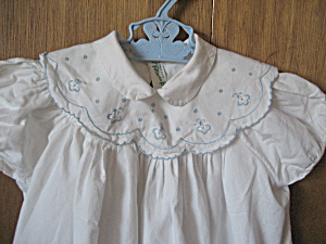 Feltman Brothers Embroidered Collar Dress