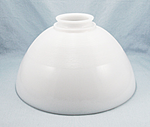 10 Inch Opal Glass Torchiere - Diffuser Shade - 3- Inch Fitter