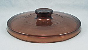 Hospitality Ovenware By Anchor Hocking, Amber Lid, 8-inch