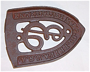 Cast Iron - Enterprise Mfg. Philadelphia U.s.a. - Iron Stand / Trivet
