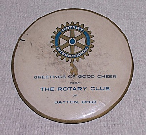 Rotary Club - Dayton Ohio - Vintage Mirror