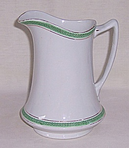 "W.h. Grindley & Co. - Vintage Milk Pitcher - ""the Olympic"" - Troy"