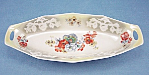 Germany Floral Celery Dish / Tray