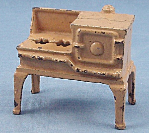 Kilgore - Kitchen Stove - Ivory - Dollhouse Miniature