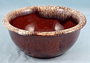Hull - Brown Drip Bowl (#3)