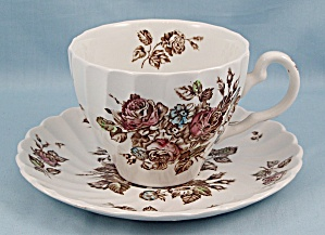 Johnson Brothers - Devon Sprays - Cup & Saucer