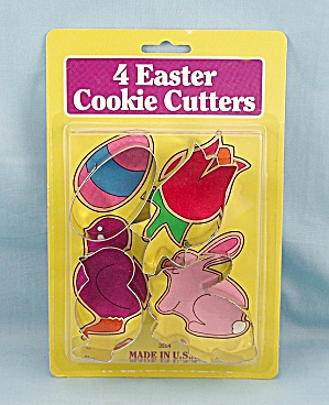 Fox Run - Four Easter Cookie Cutters Set/ Packaged