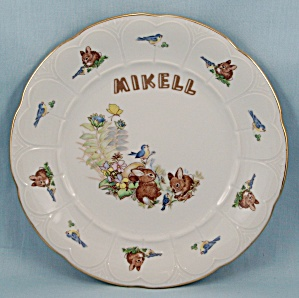 Bareuther - Bavaria, Germany - Bunny Plate