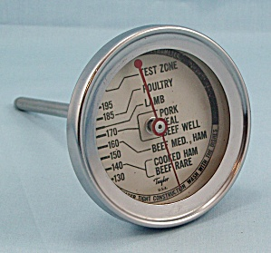 Taylor Roast Meat Thermometer / Round Face #2