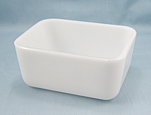 Mckee - Milk-glass Refrigerator Base, No Lid