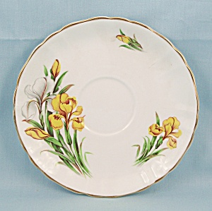 Flowers Of Shakespeare's Day - Saucer, Flower  - de-luce