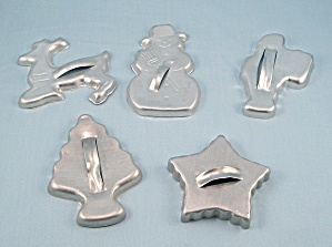 5 - Figural Christmas Cookie Cutters