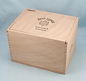 Juan Lopez - Wooden Tobacco Box