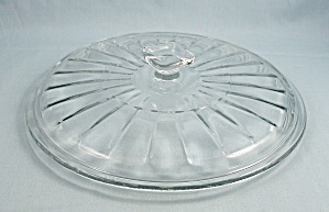 Anchor Hocking - Clear Glass Lid, Square Knob - 8-inches / Round