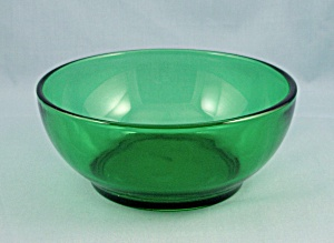 Anchor Hocking - Popcorn Bowl - Forest Green