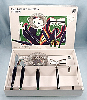 Wmf - Bar Set - Fantasia - 4 Pc.