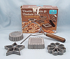 Nordic Ware -rosette - Timbale, Four Form Set