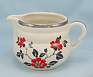 Hall's Red Poppy Creamer