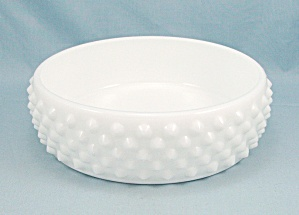Fenton, White Milk Glass Hobnail Candy Bowl Base