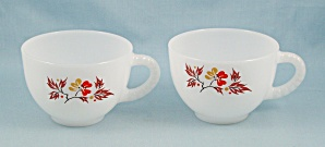 2 Federal Snack Set Cups - Blossom