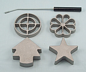 Rosette & Timbale Iron Set