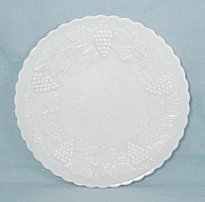 Imperial Glass - Grape Pattern - Plate