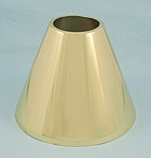 Aluminum Lamp Shade, Gold Color