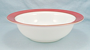 Coral-gold By Pyrex - 9-inch Round Vegetable Bowl