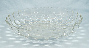 Bubble- Clear, 8.5 Inch Round Bowl