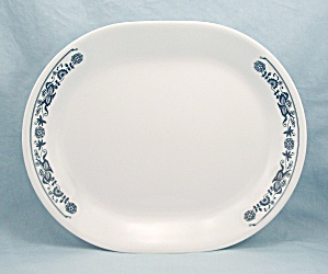 Corning/ Corelle - Old Town Blue, Oval Platter