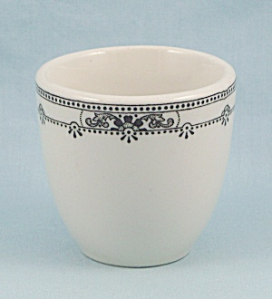 Sterling China - Decorated Rim, Egg Cup - Vitrified China