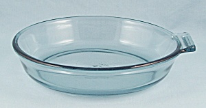 Flameware 817 B - Blue Tint, Glass Skillet - Pyrex